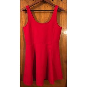 Red night out H&M dress